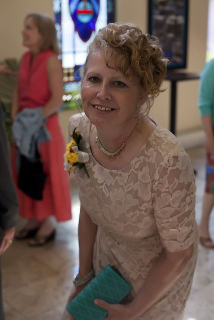 My Mother before the wedding