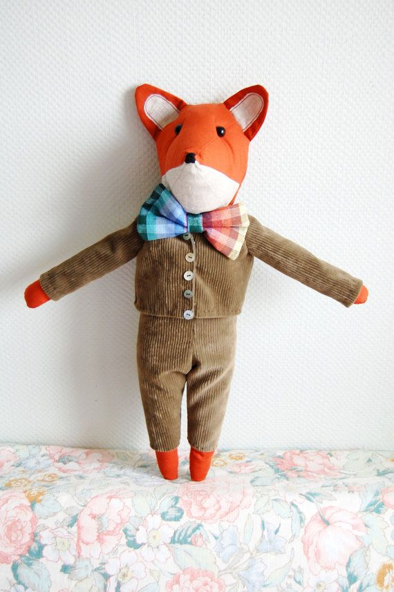 Can T Wait For This Guy To Arrive From Lithuania Custom Made Fantastic Mr Fox Fantastic Mr Fox Fox Plush Fox