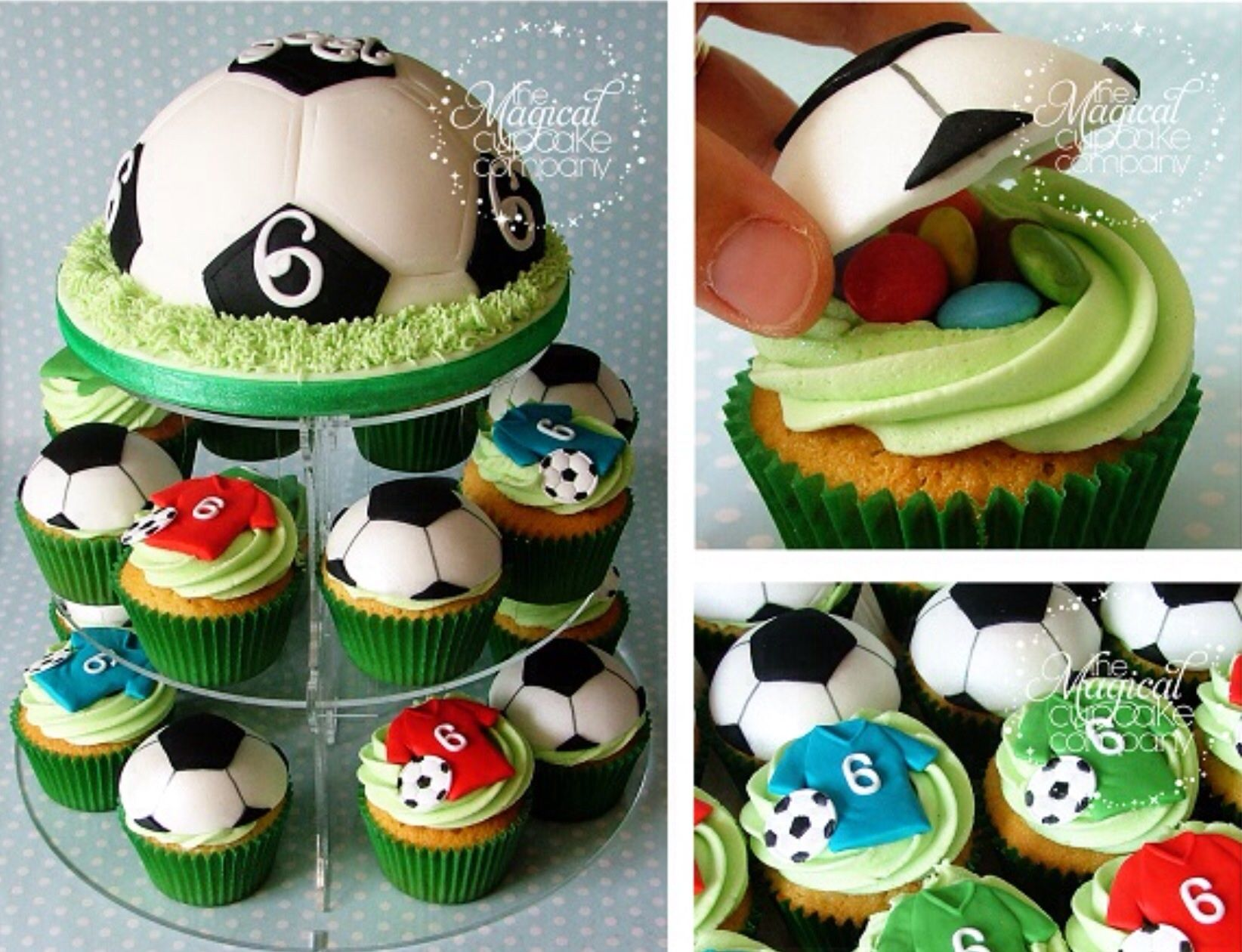 Score Big With These World Cup Themed Cakes And Cupcakes Cupcake Cakes Soccer Cake Soccer Cupcakes
