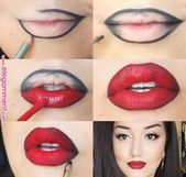 Photo of Brave red lipstick look for brave girls # for #lipstick look # …