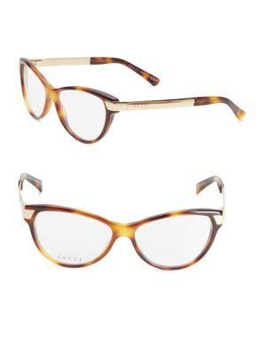 ef27d3a52bbca GUCCI 51Mm Cat S-Eye Optical Glasses.  gucci  glasses