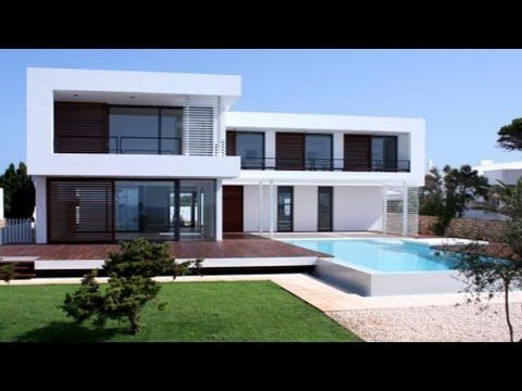 Minecraft easy modern house mansion tutorial download how to make youtube also rh pinterest