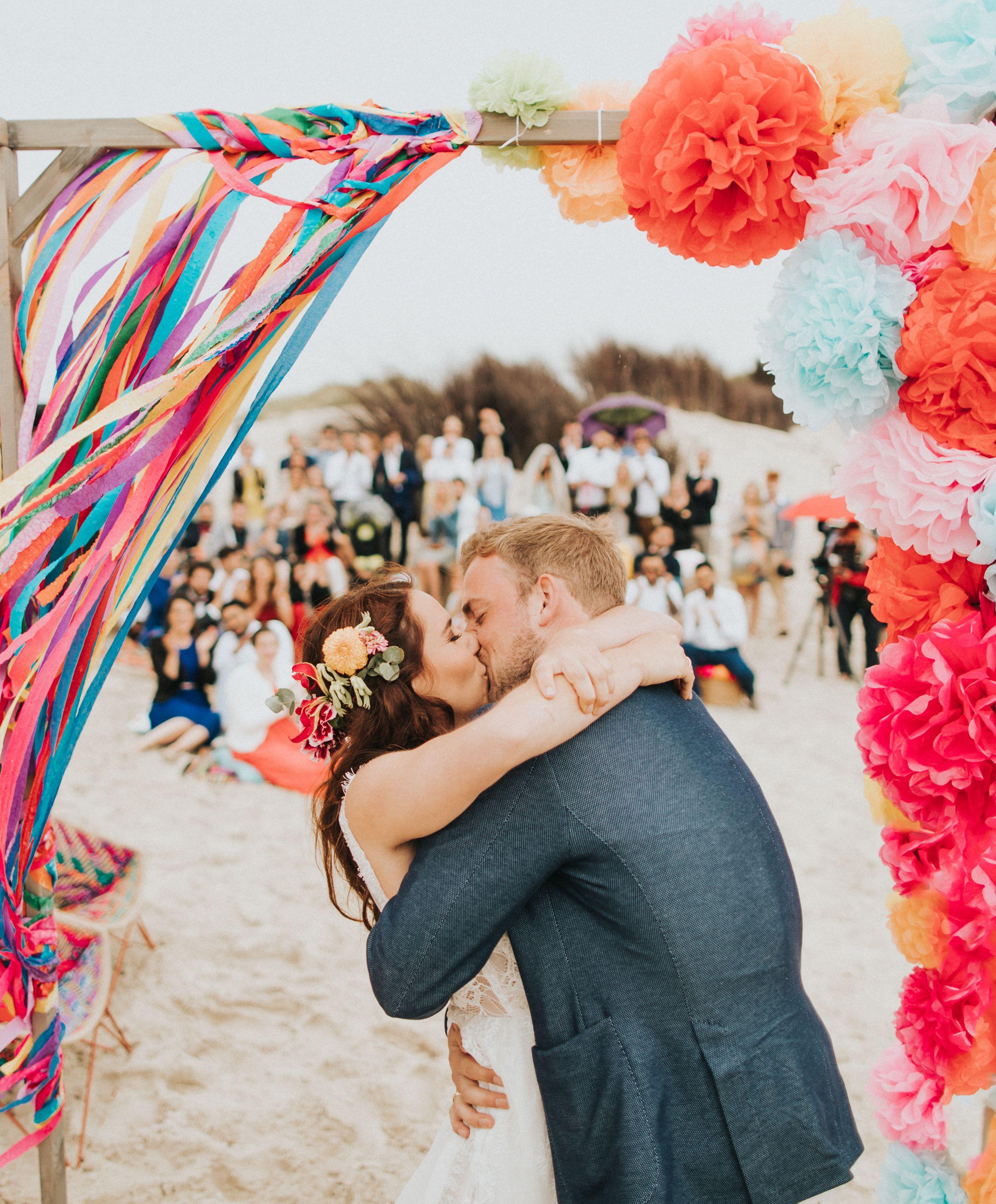 Farbenspiel Traumhochzeit Am Strand Hochzeit Fotografie