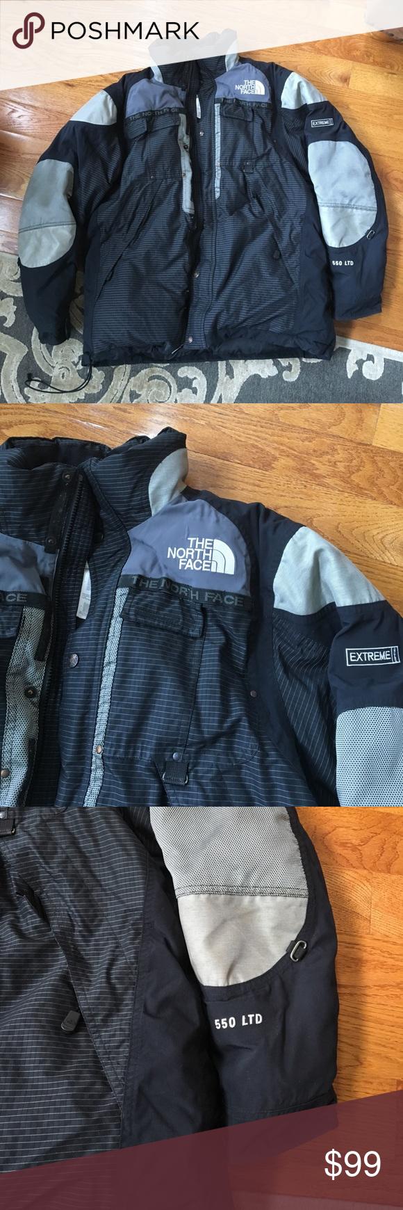 128855212 North face Extreme 550 ltd men M jacket rare Very worn. But still in ...