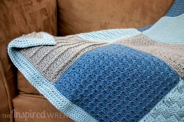 Border! Crochet Along Afghan Sampler | Crochet | Pinterest ...