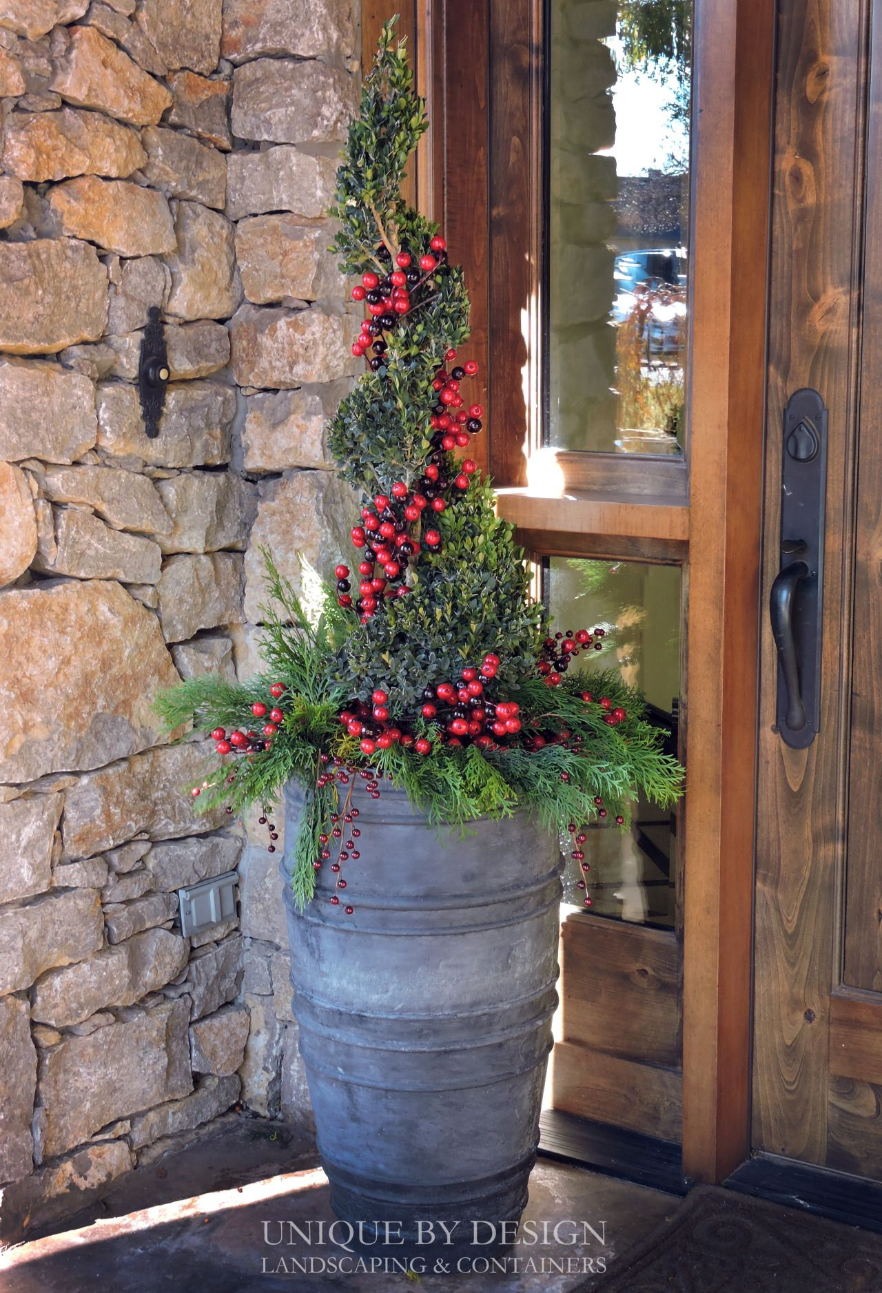 Photo of CONTAINER & LANDSCAPE DESIGN – EXTERIOR STYLING & SEASONAL DISPLAYS