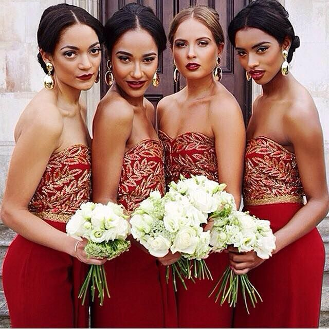"6f9b2558101d ""Inspiration Gallery for Bridesmaids"": 50 Stunning & Gorgeous Bridesmaids  Dresses – #BeInspired 