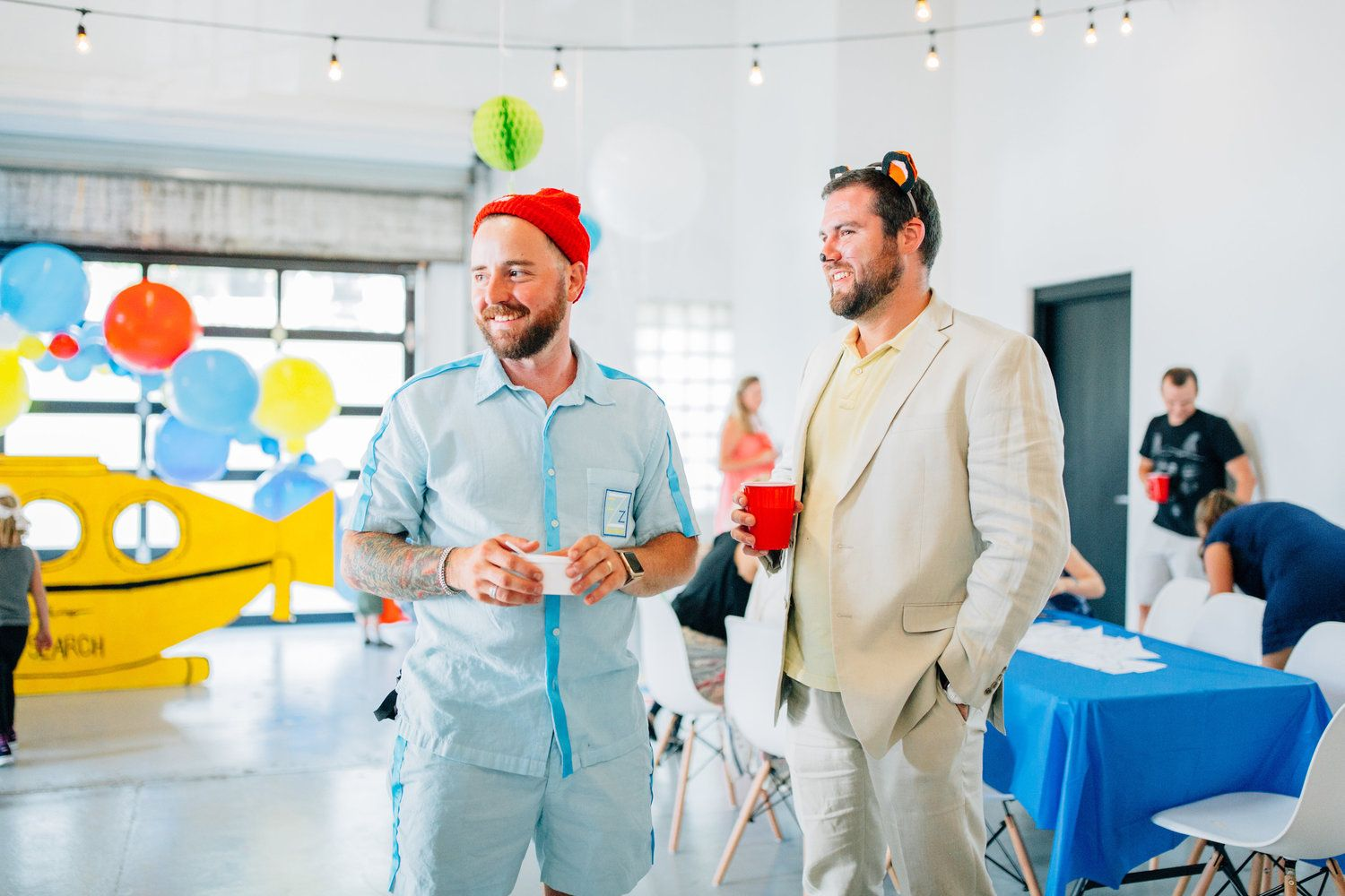 Life Aquatic Themed 1st Birthday Party Jacksonville FL Balloons Planner Six Hundred King Event Venue