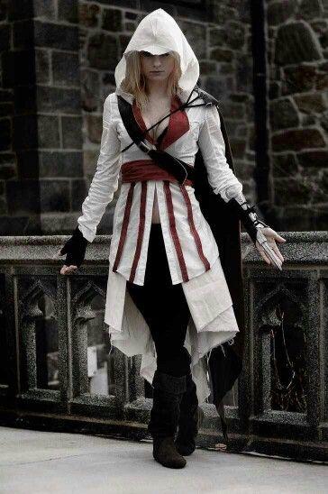 Ezio Auditore Cosplay Assassin S Creed Female Assassins Creed Cosplay Cosplay Costumes Cosplay Outfits