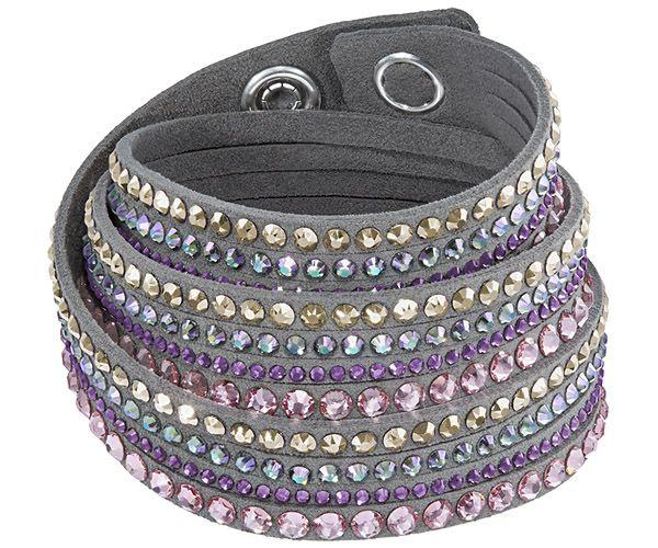 Slake Deluxe Max Gray Bracelet - Gifts - Swarovski Online Shop