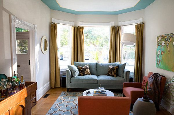How To Choose Paint Colors And Strategies Living Room Drapes Eclectic Living Room Living Room Decorate octagon shaped living room