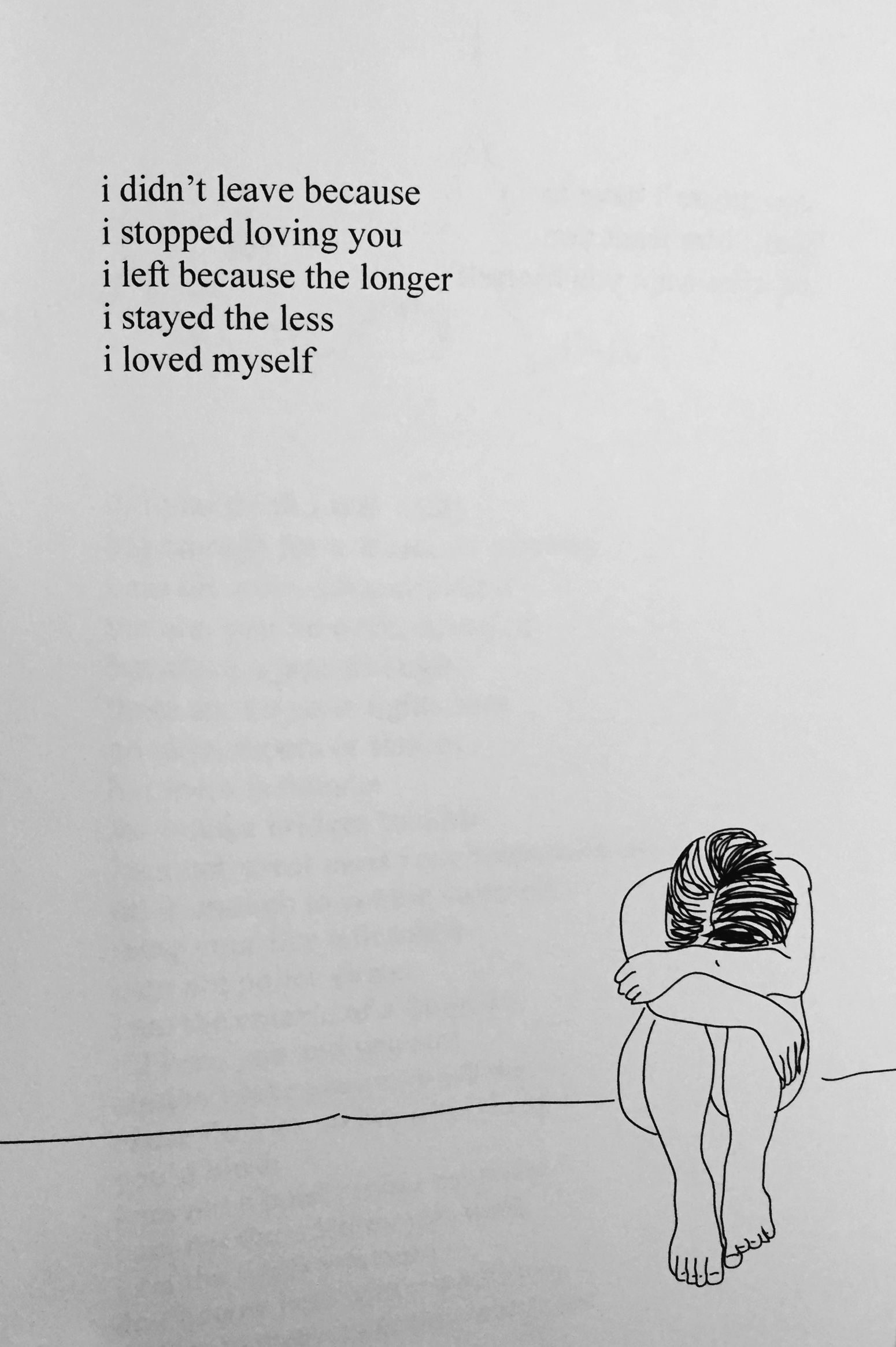Love Yourself First  Rupi Kaur