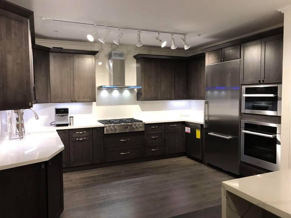 Scorpion Birch Color Kitchen Cabinets