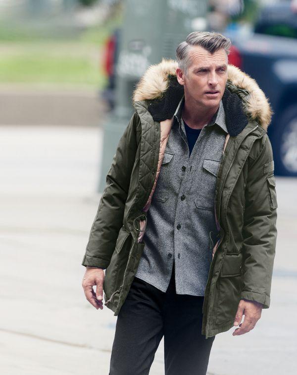 JCrew men\u0027s Nordic parka, Wallace  Barnes shirt-jacket, softspun