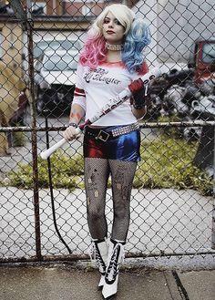 67766df02 A fantasia de Harley Quinn vai fazer o maior sucesso nesse Halloween!   fantasias  halloween  costumes  harleyquinn  arlequina