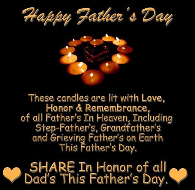 Happy Fathers Day In Heaven Quotes Images 2018 From Daughter