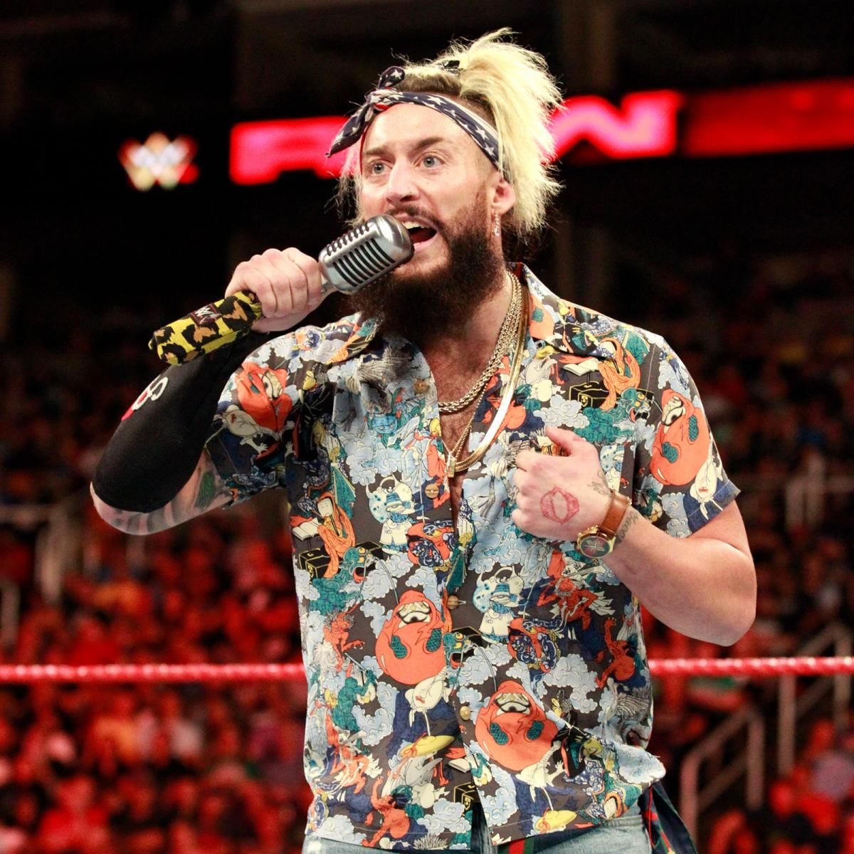enzo says cass is nothing more than a seven foot catch phrase that enzo created