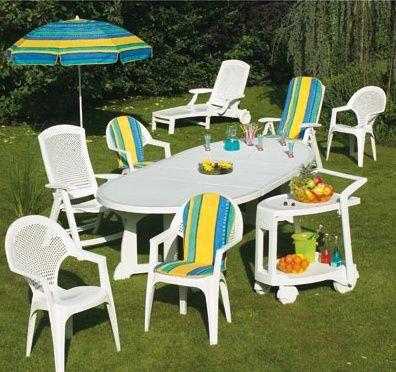 Chaises jardin plastique - Chaises de jardin en plastique ...