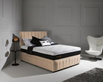 Dormeo Octaspring Roma Fabric Divan Bed With Hybrid Mattress Dormeo