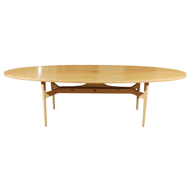 Surfboard Shaped Dining Table From A Unique Collection Of