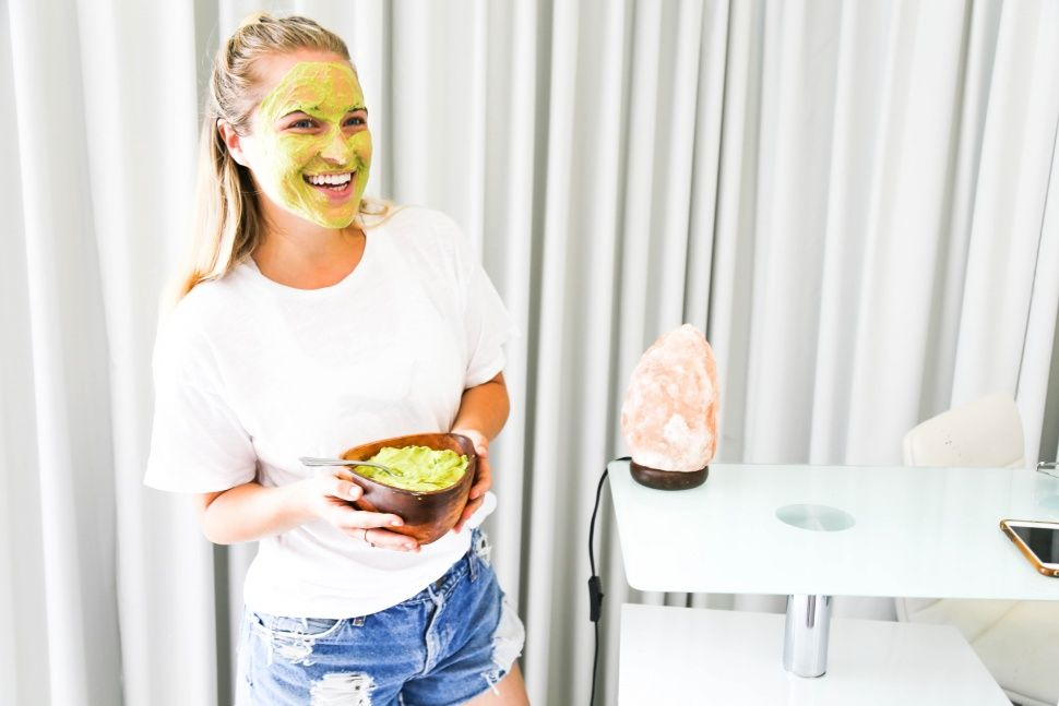Natural Ingredient Face Mask | Avocados & Bananas Galore!