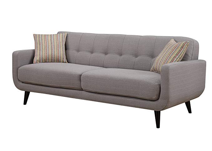 amazon ac pacific crystal collection upholstered gray