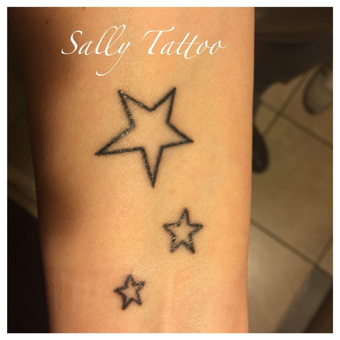 Star tattoo.tatuaggio stelle.