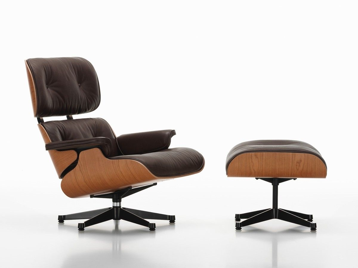 Buy The Vitra Eames Lounge Chair Amp Ottoman American Cherry At Nest With Vitra Furniture 30594 Lounge Chair Eames Lounge Chair Vitra Furniture