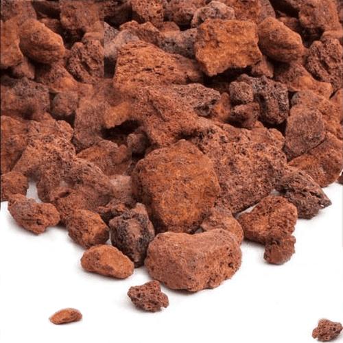 """North American Pet Red Lava Rock 6/"""" L X 5/"""" W X 4/"""" H"""
