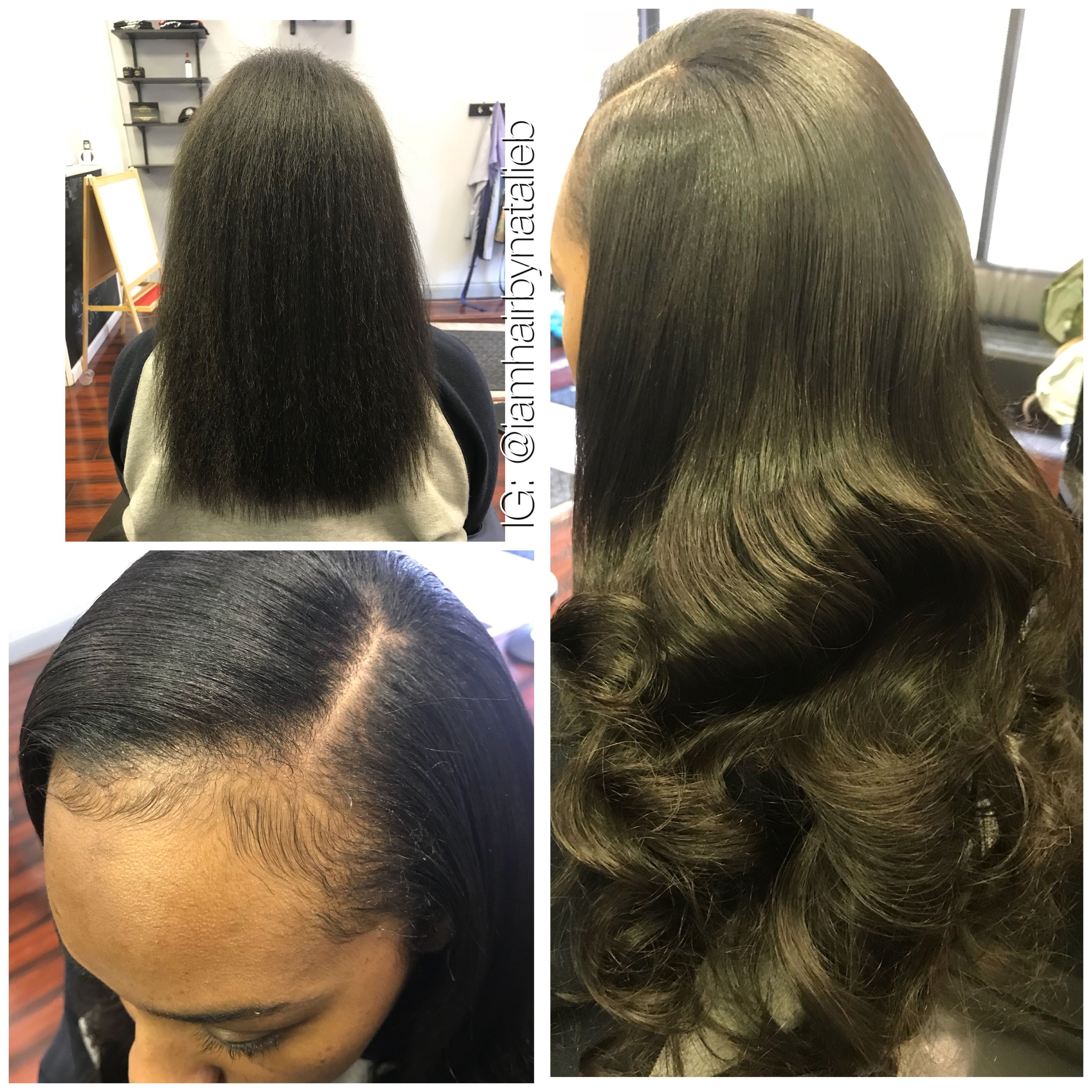Your Sew In Hair Weave Should Be Flat And Natural Lookingd