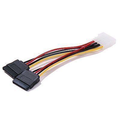 2port Sata Splitter Power Cable (2 X 15pin) by OKGEAR