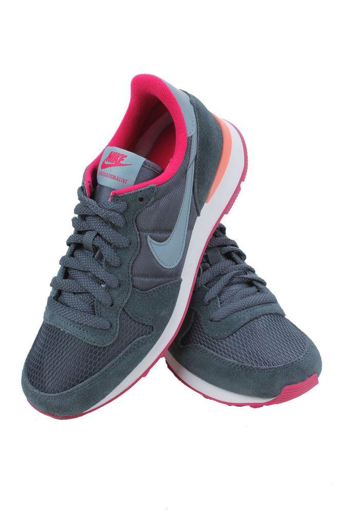 the best attitude 4ea05 05656 INTERNATIONALIST WOMEN DARK MAGNET GREY FUCHSIA 629684-006 NIKE  Nike   RunningCrossTraining