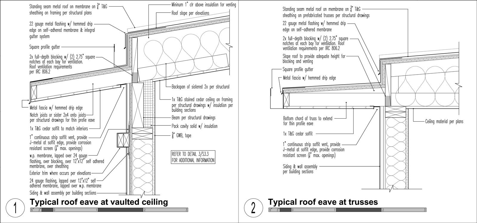 Metal Roof Construction Metal Seam Roof Details In 2020 Metal Roof Construction Roof Construction Roof Detail