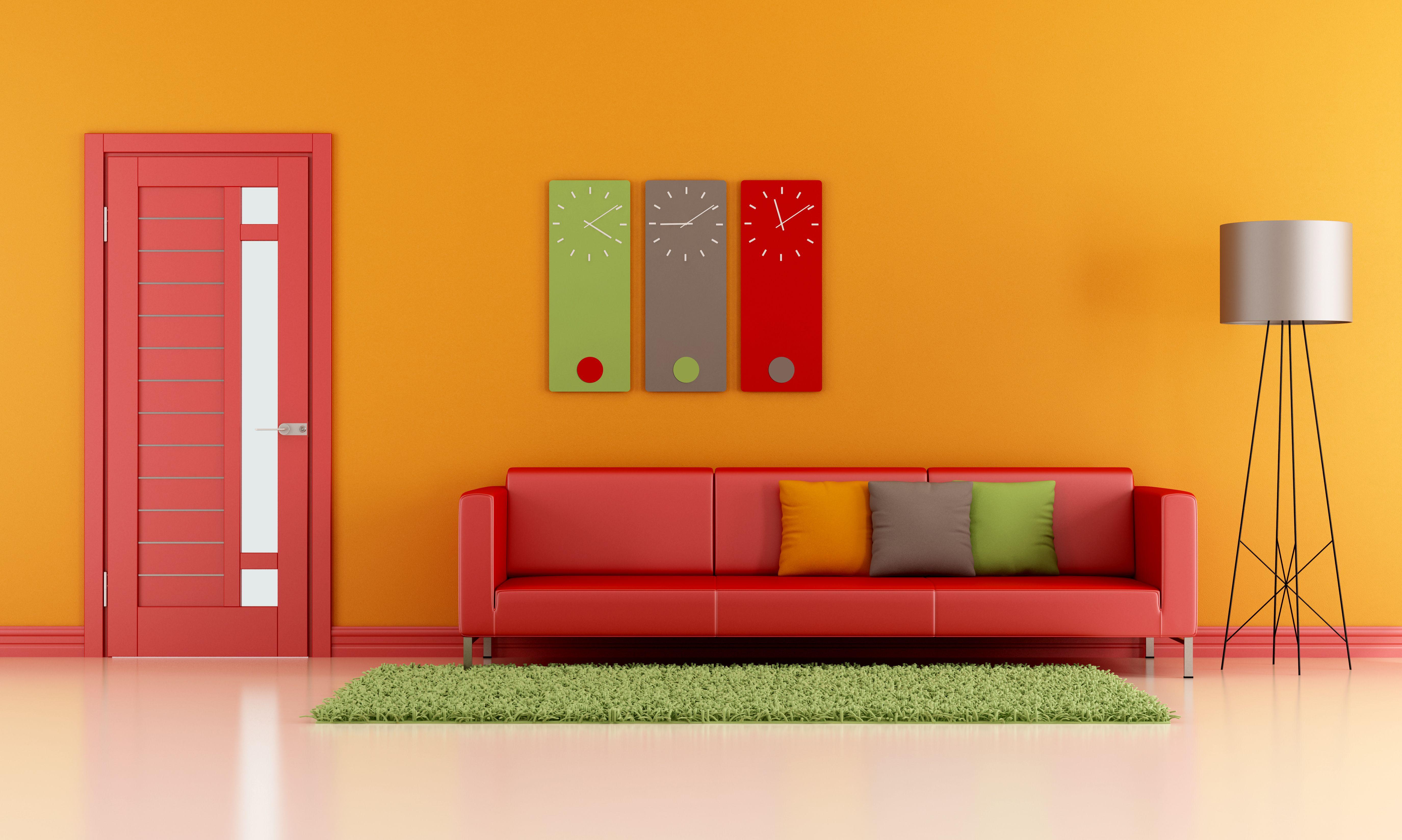 Association Couleur Peinture Salon Salle À Manger 5 couleurs pour mettre de l'ambiance dans votre salon | déco