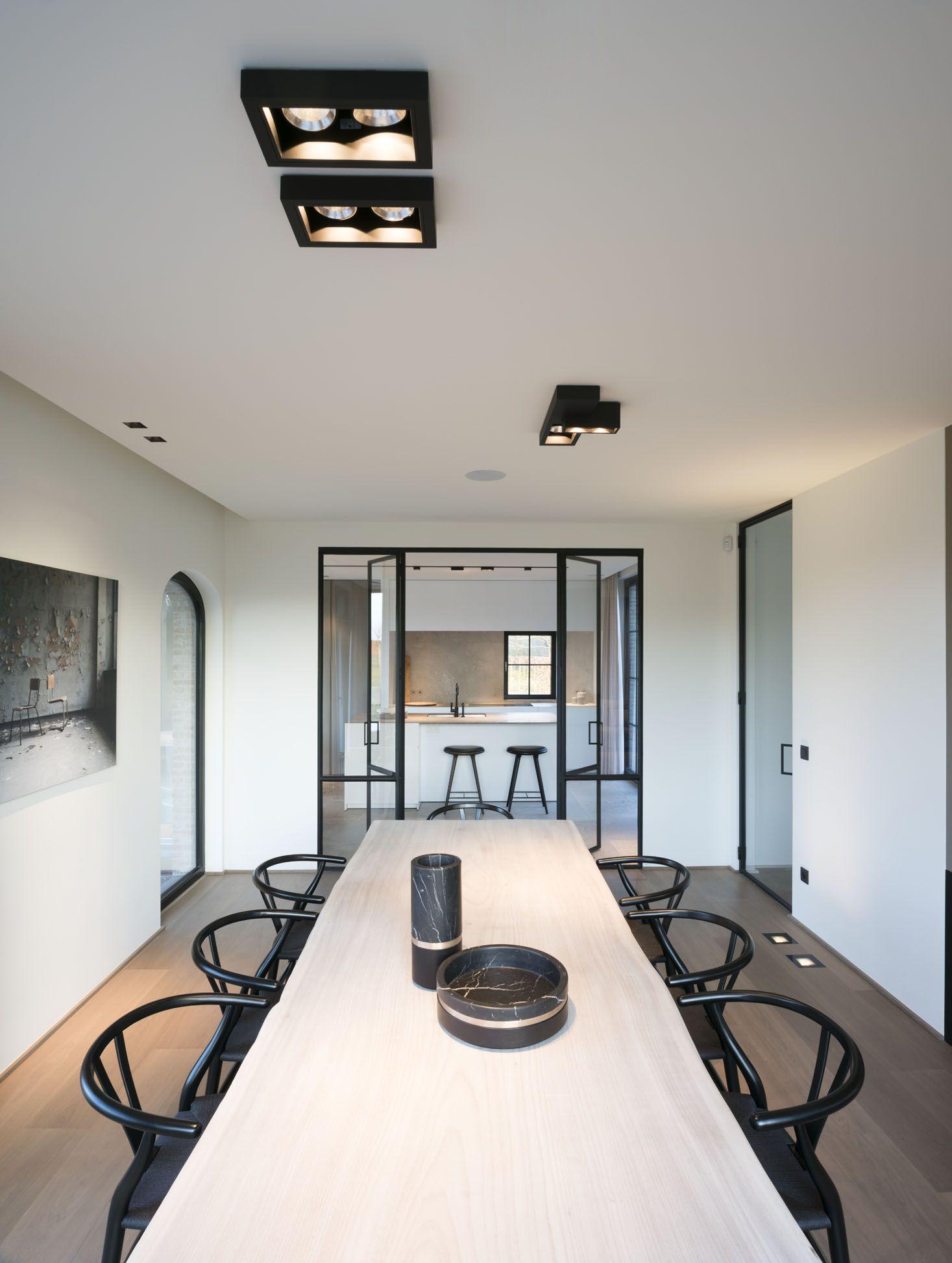 Kreon Lighting Minimalist Modern Led Design Architecture Dining Room Regard