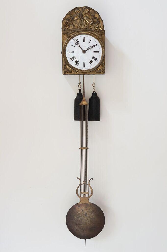 American Weight Driven Banjo Clock Lot 161 Estimate 600 800 Saatler