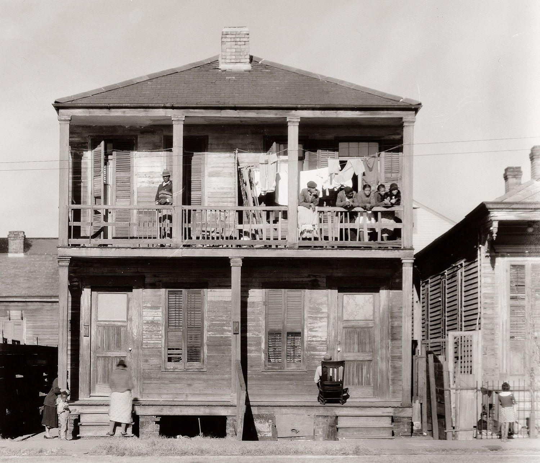Negro+house+in+New+Orleans,+Louisiana+January+1936.jpg (1500×1284)