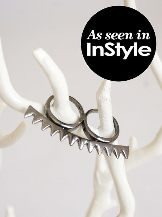 Spike Knuckle Duster Ring