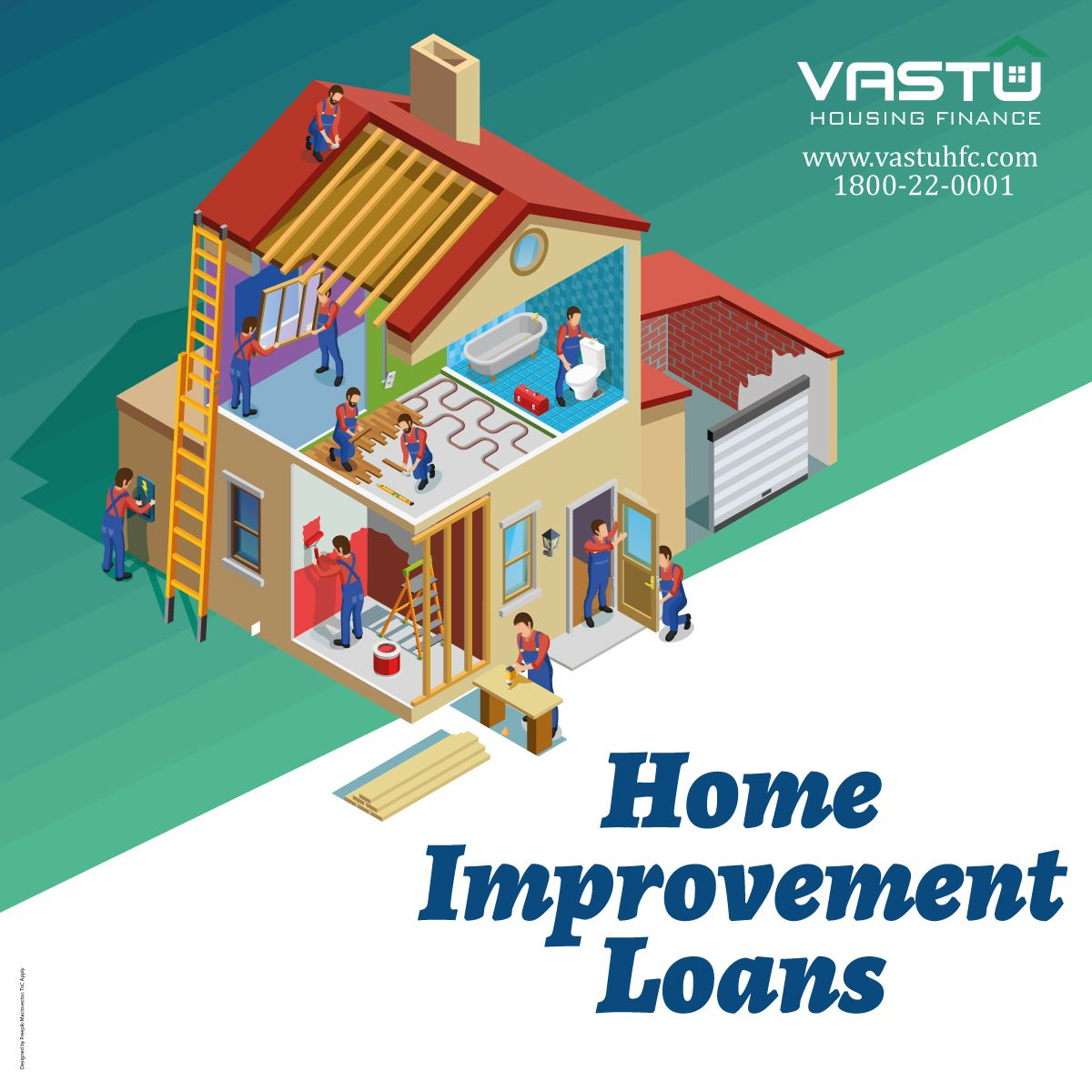 Vastu Home Improvement Loans Helps You Redesign Your Home Just