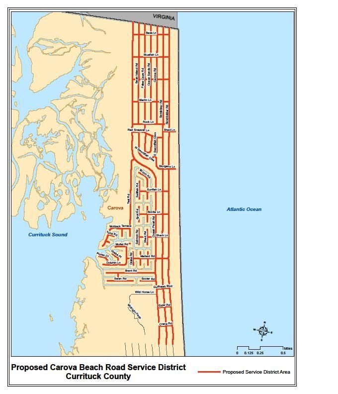 Map of the 4X4 area Carova Beach   Places I like   Beach, Places