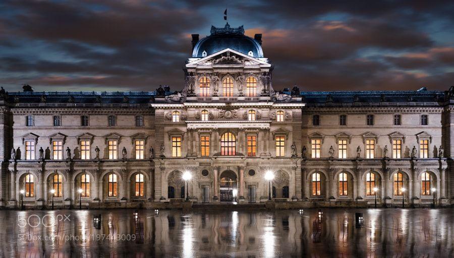 Pavillon de l'Horloge (Palais du Louvre) by CarloDiCaterino