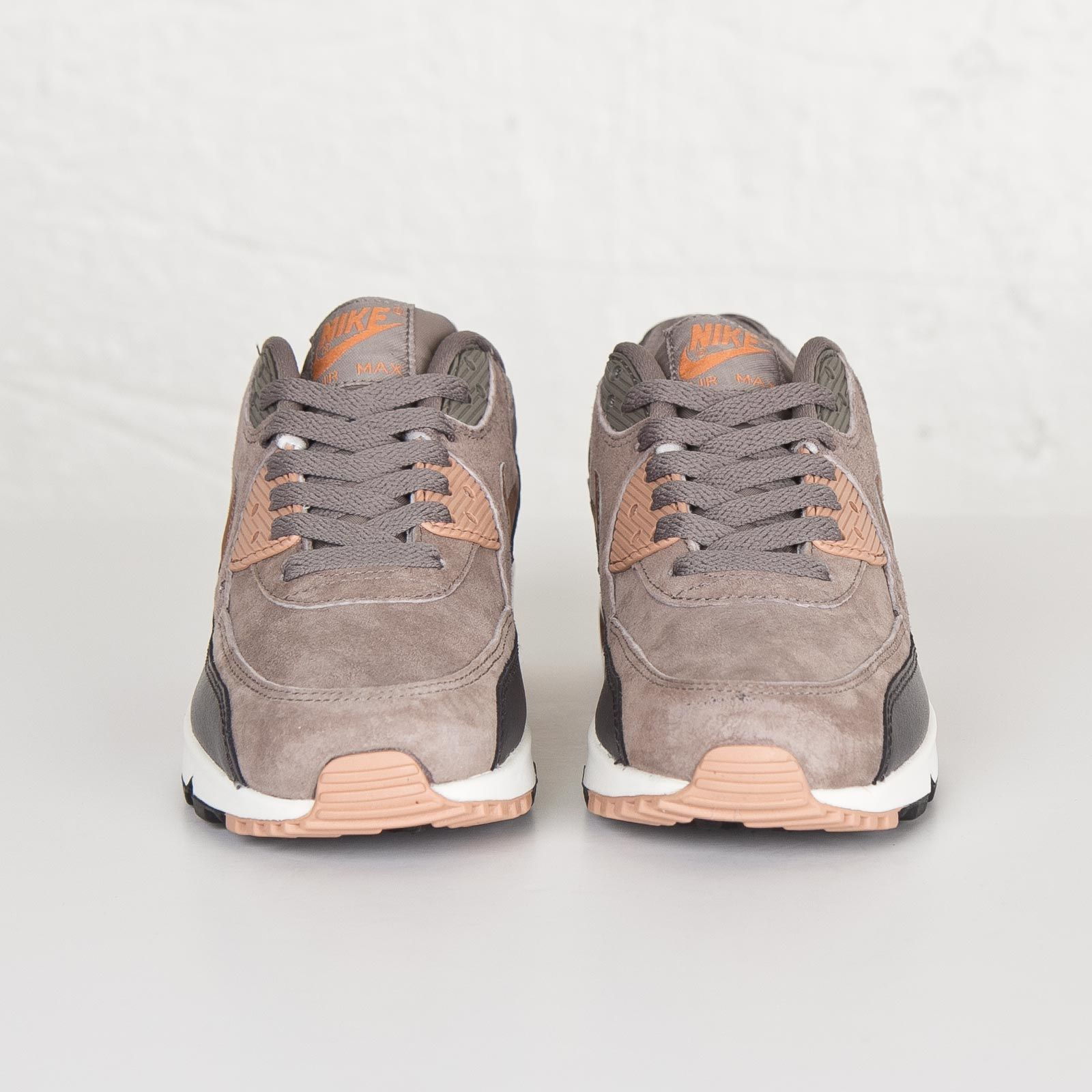 Damen Nike Air Max 90 Leather Ironrote Bronze Sail | Air