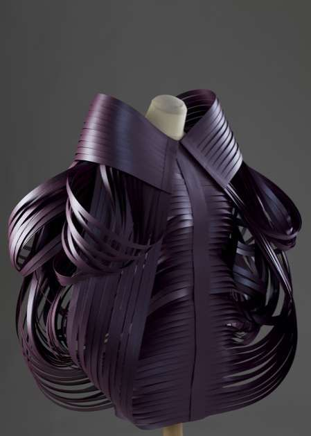 Folded Foam Fashion Looks - Matija Cop's Experimental Fashions are Made of Interlocking Foam (GALLERY)
