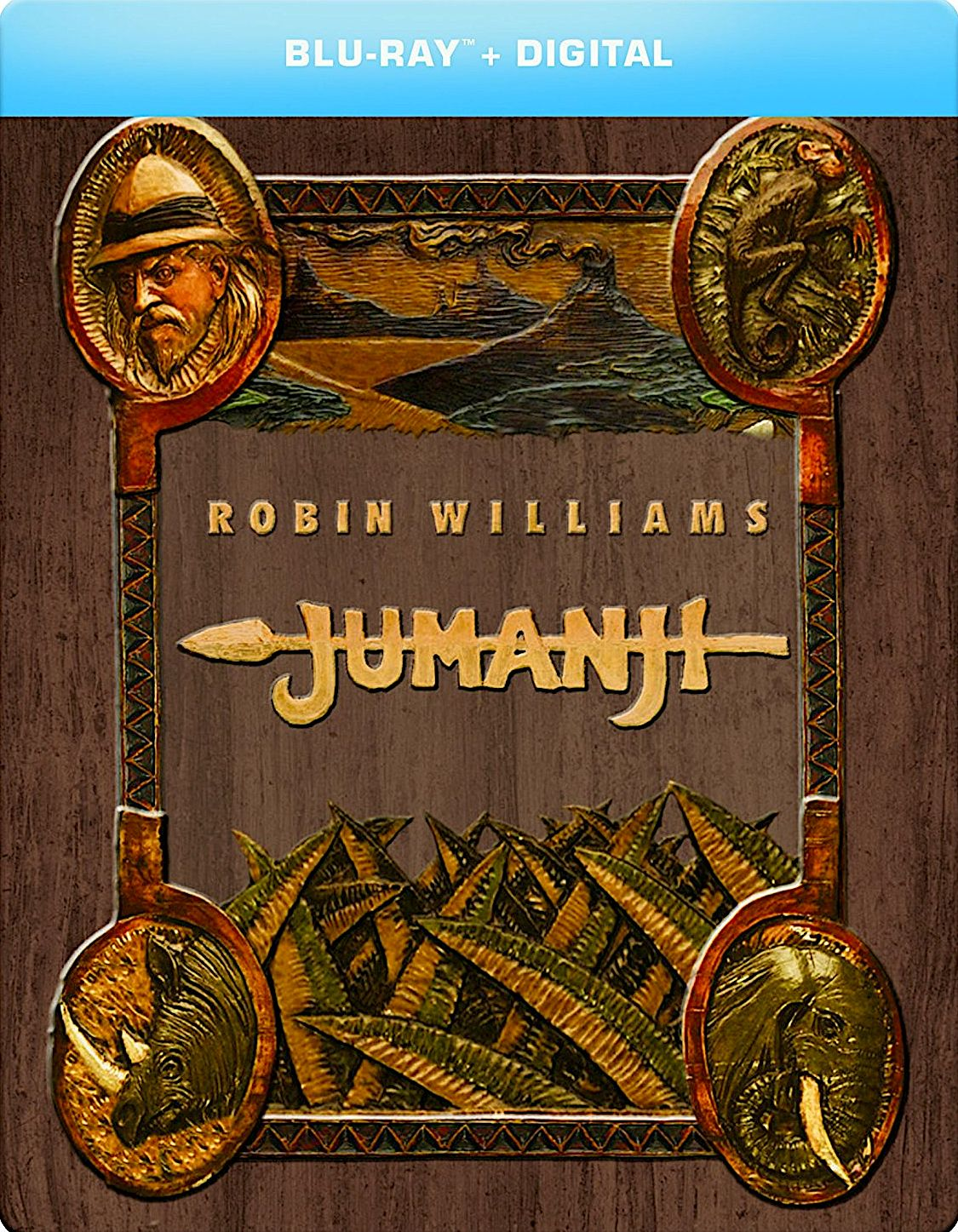 JUMANJI BLURAY STEELBOOK (SONY PICTURES) Jumanji movie