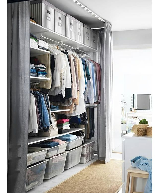 Pin By Rossella Mondelli On Our House Ikea Bedroom Storage Storage Solutions Bedroom Small Space Storage Bedroom