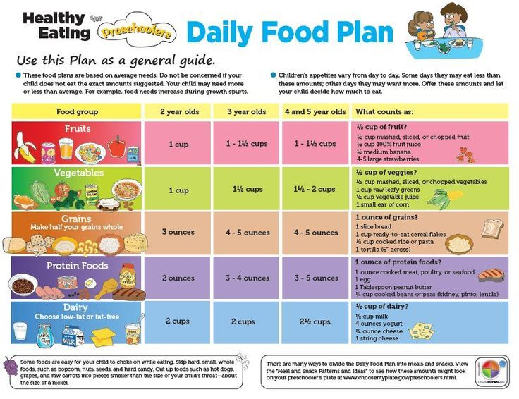 toddler healthy meal plans Understanding MyPlate A