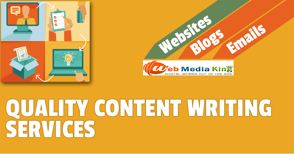 Web Media King is a Professional Content Writing Agency in