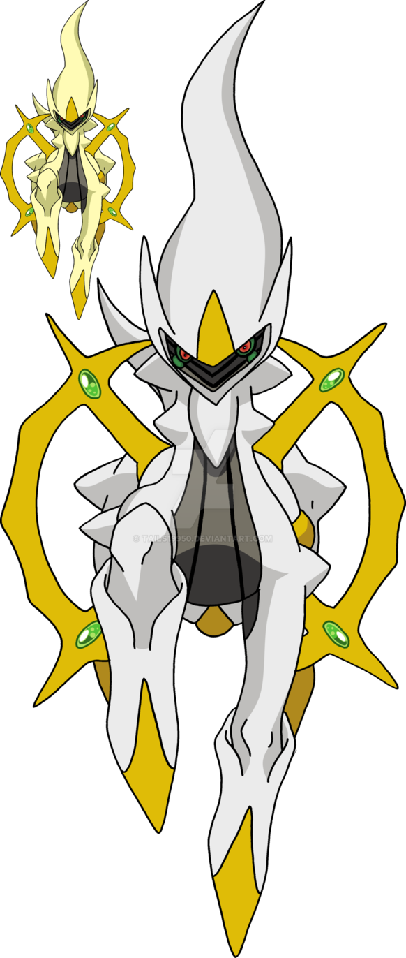 493 - Arceus - Art v.20 by Tails19950 | crafts for boys | Pinterest