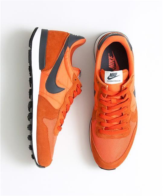detailed look 5884f e49b2 Nike Internationalist in burnt orange, found at Albam