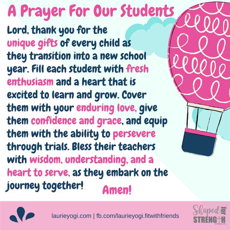 Classroom Prayer Ideas : Back to school prayer for students christian quotes